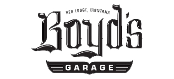 Boyds Garage Logo Autobody Work Red Lodge Montana