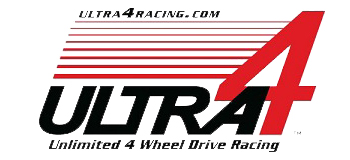 Ultra 4 Logo Unlimited 4 Wheel Drive Racing